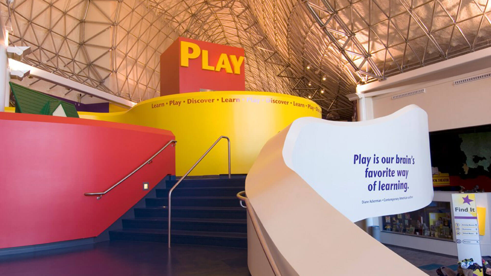 The highly regarded addition at Strong National Museum of Play was done by Manning Squires Hennig Co. Inc., a union contractor.