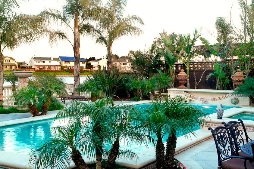 Mediterranean Pool & Patio