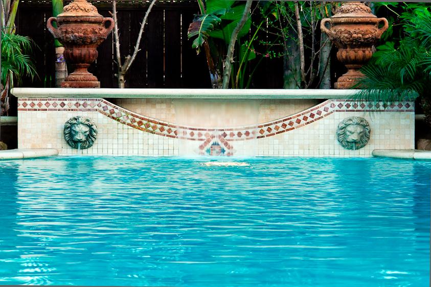 Swimming Pool Tile Detail