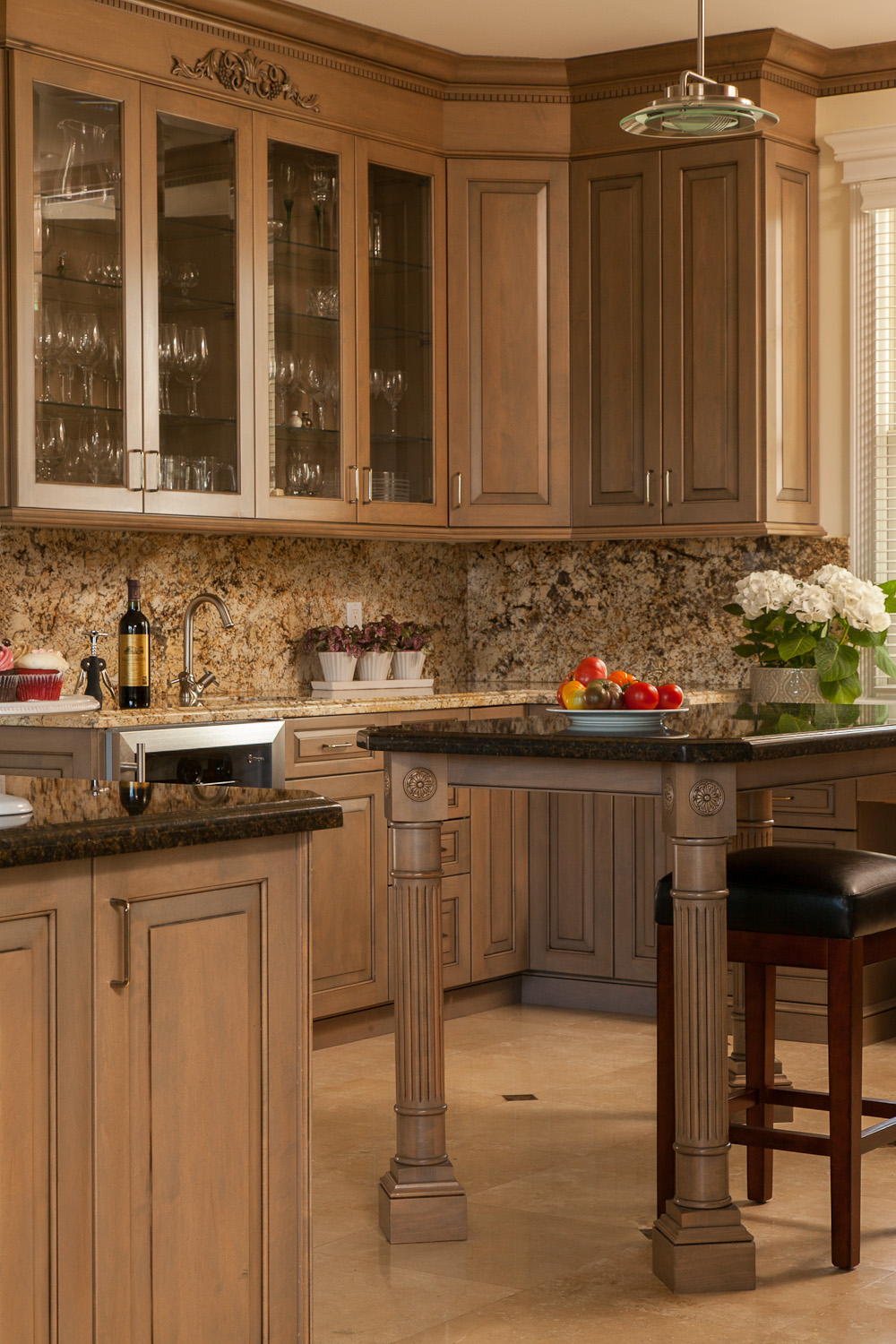 Classic kitchen in detail