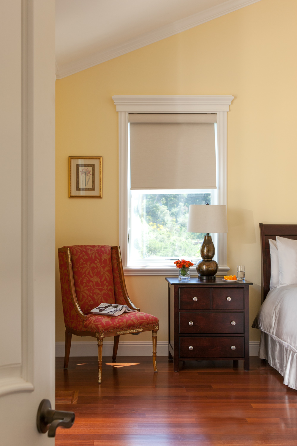 Detail of Classic Style Guest Bedroom