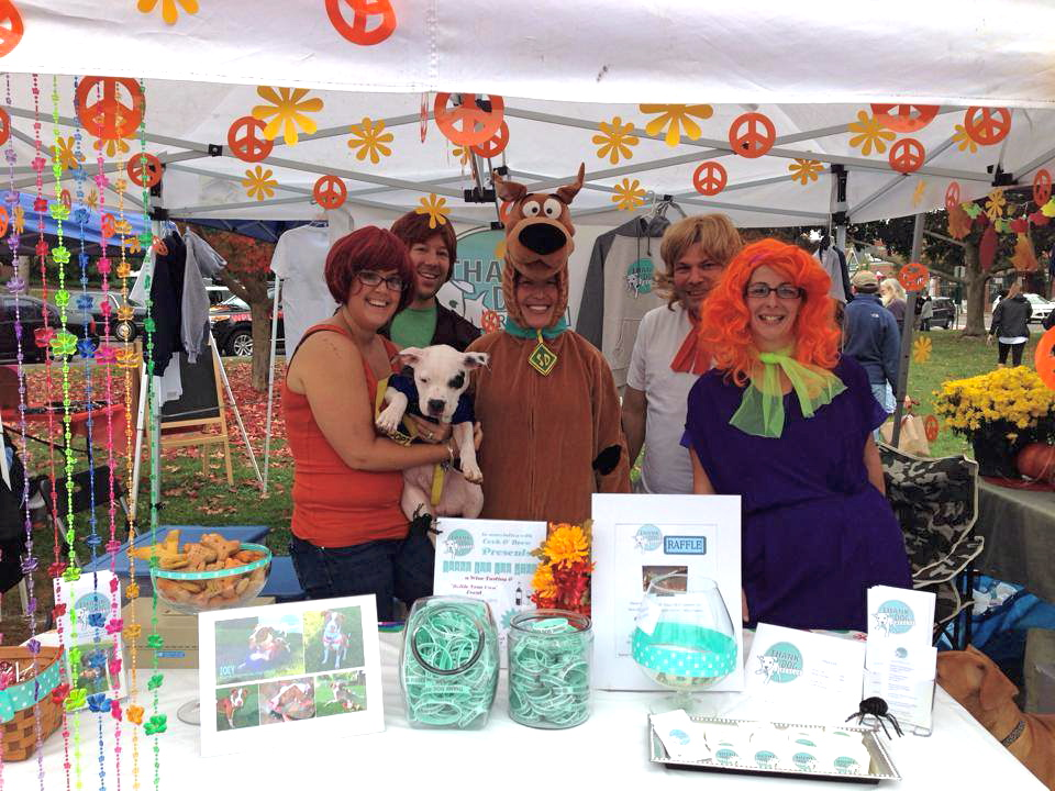 our booth at Branford Animal Awareness Day Oct 2013