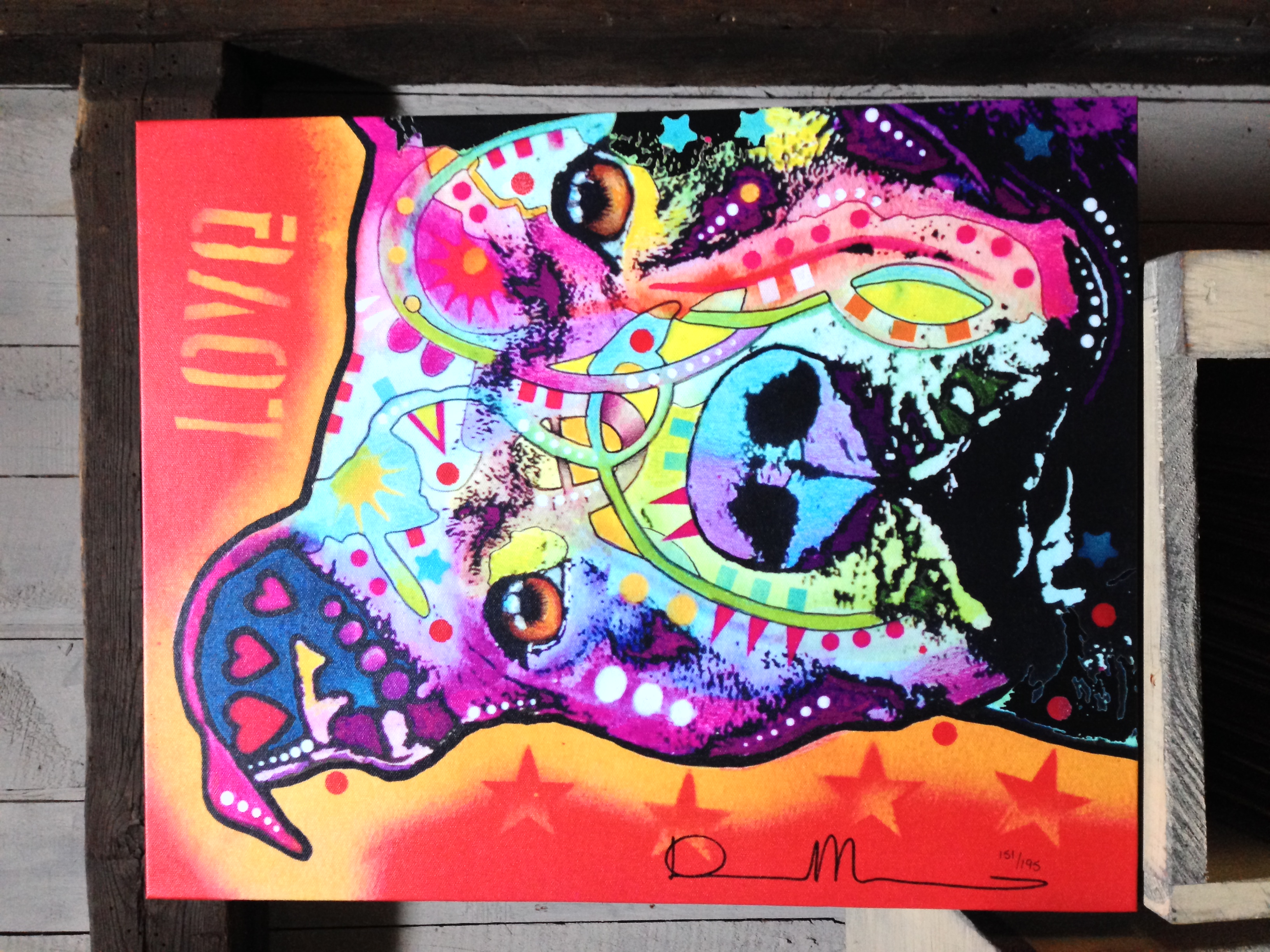 GRAND PRIZE for BEST in SHOW (most votes) - 16 x 20 Dean Russo Canvas