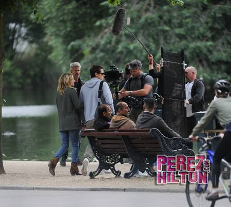 Papped on Good People with James Franco and Kate Hudson