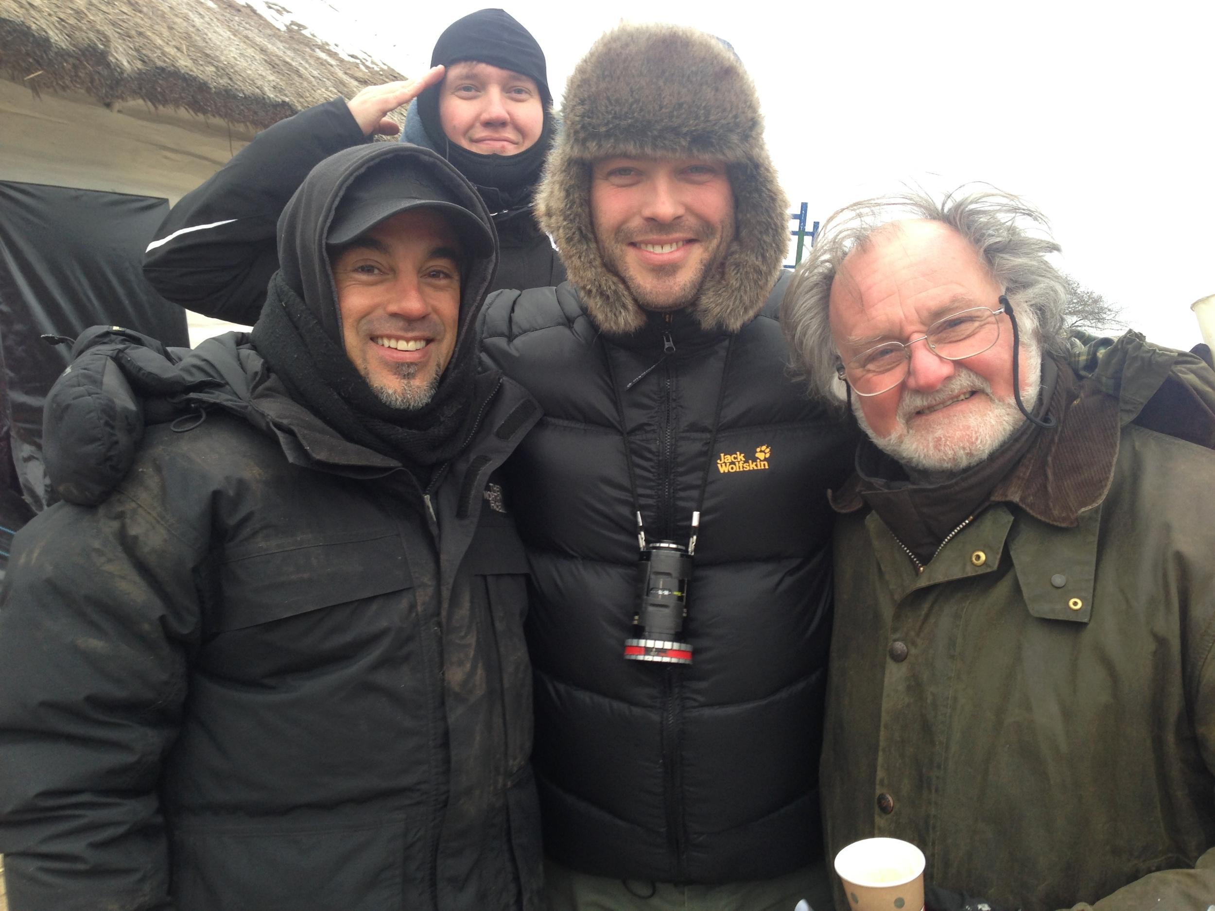 On Devil's Harvest in Ukraine with Doug Milsome