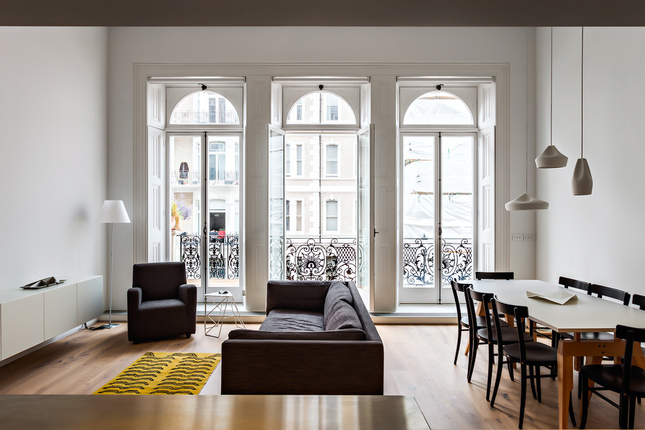 Central London Flat. • baraperglova.com/blog