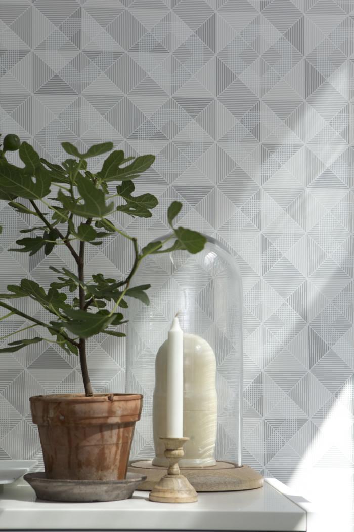 Go green! Sage green. Domensions Wallpaper by Eco • baraperglova.com/blog