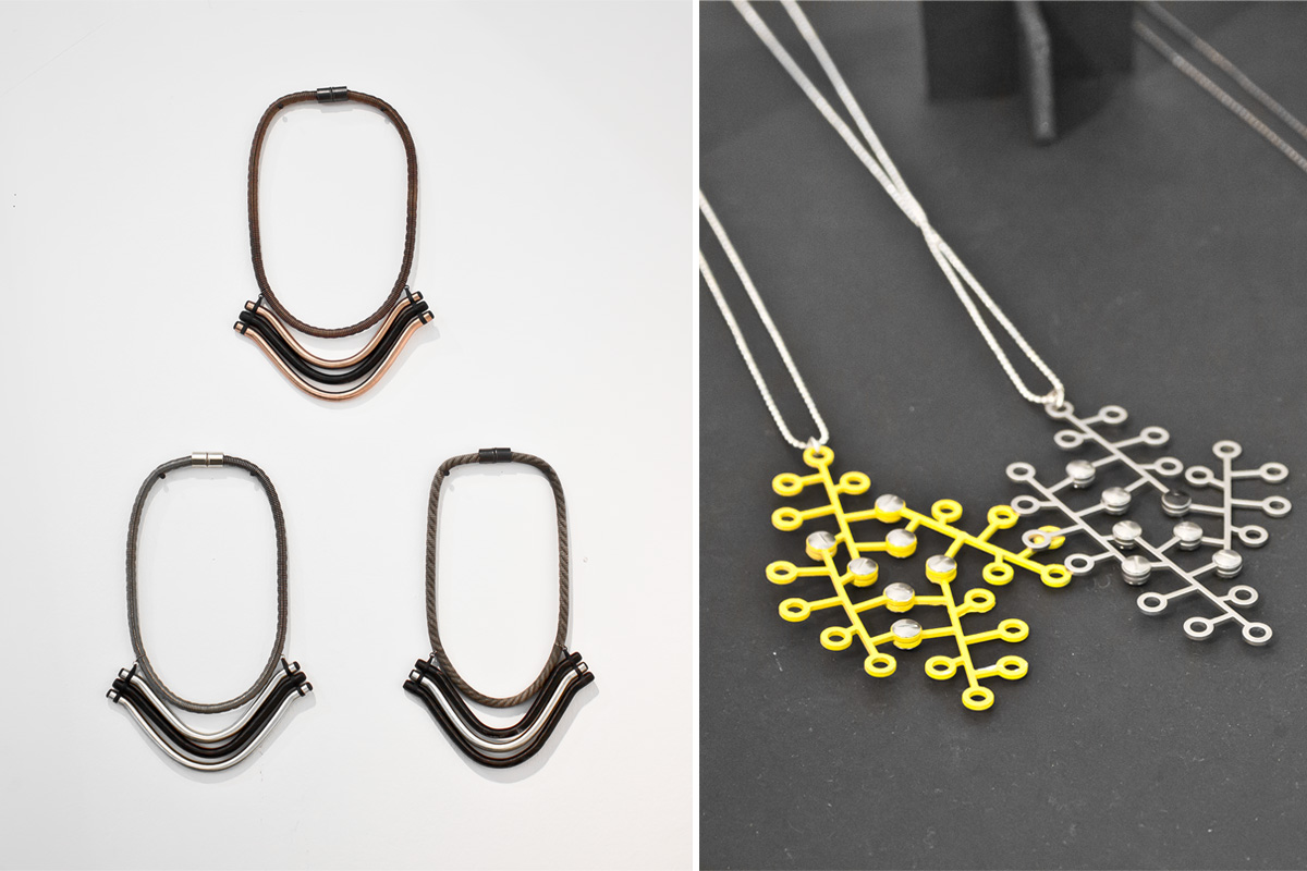 The best of Home London 2014 • Industrial jewelry by Hila Rawet Karni • baraperglova.com