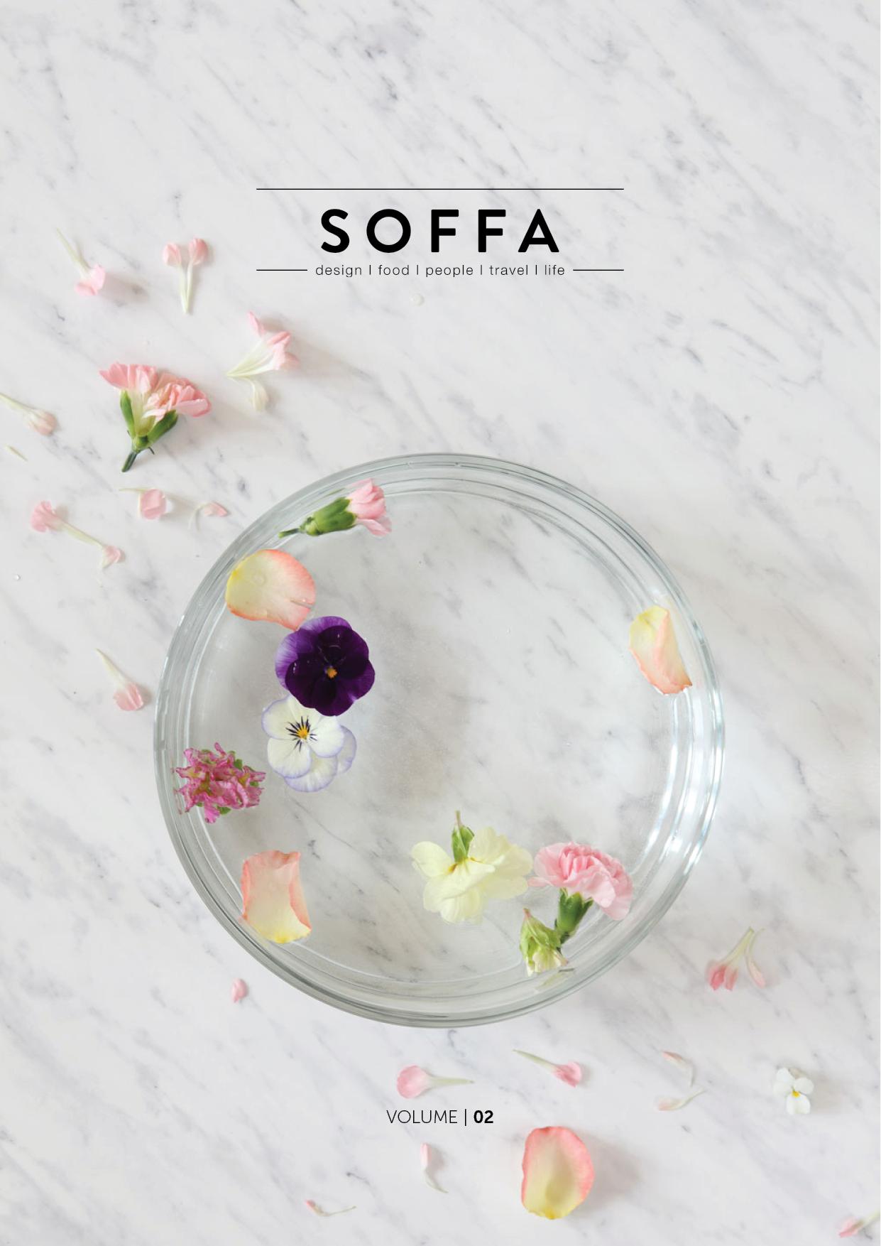 Spring issue of Soffa magazine. • via baraperglova.com