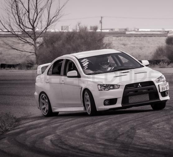 Not my EVO, but you get the idea.