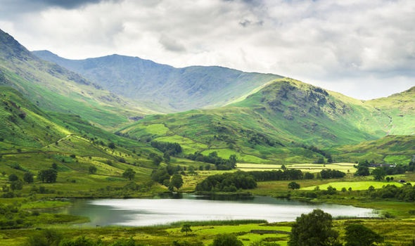 The Lake District. A little hillier than South Dakota, but the wild feeling's the same.