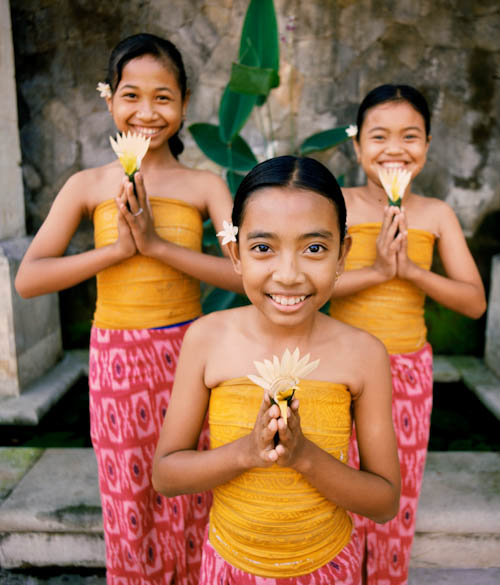 Children in Bali