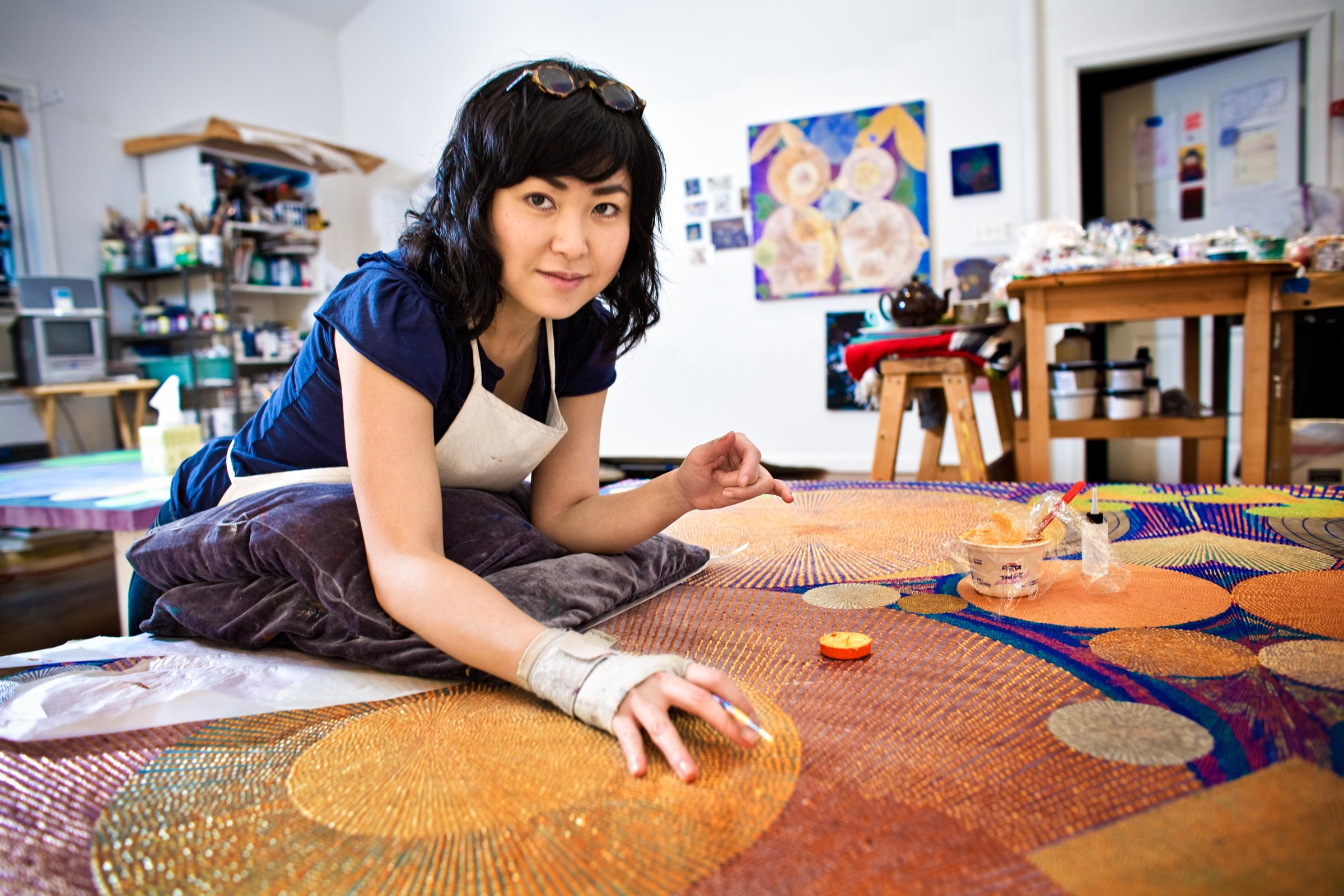 Chie Fueki, artist