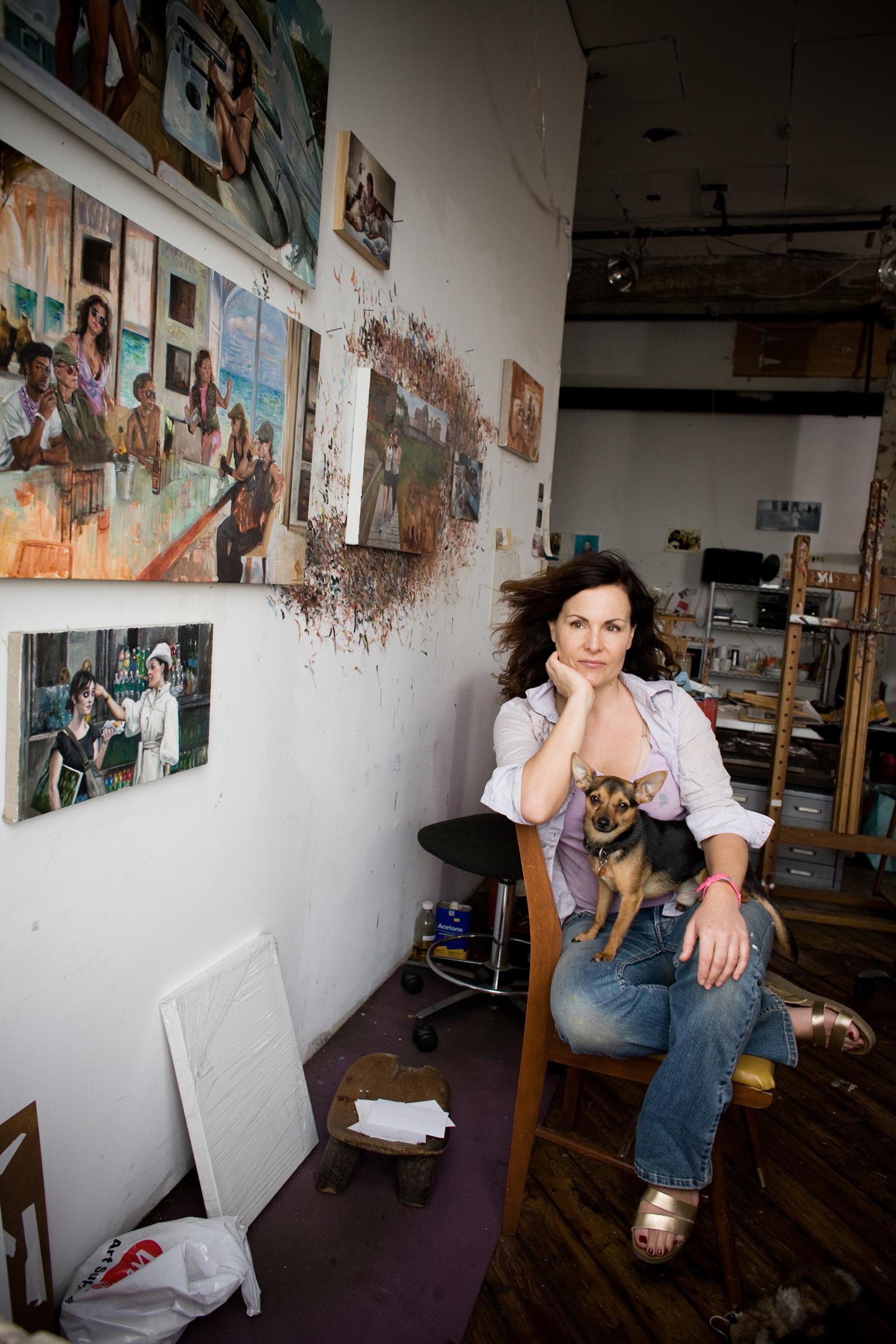 Delia Brown, artist