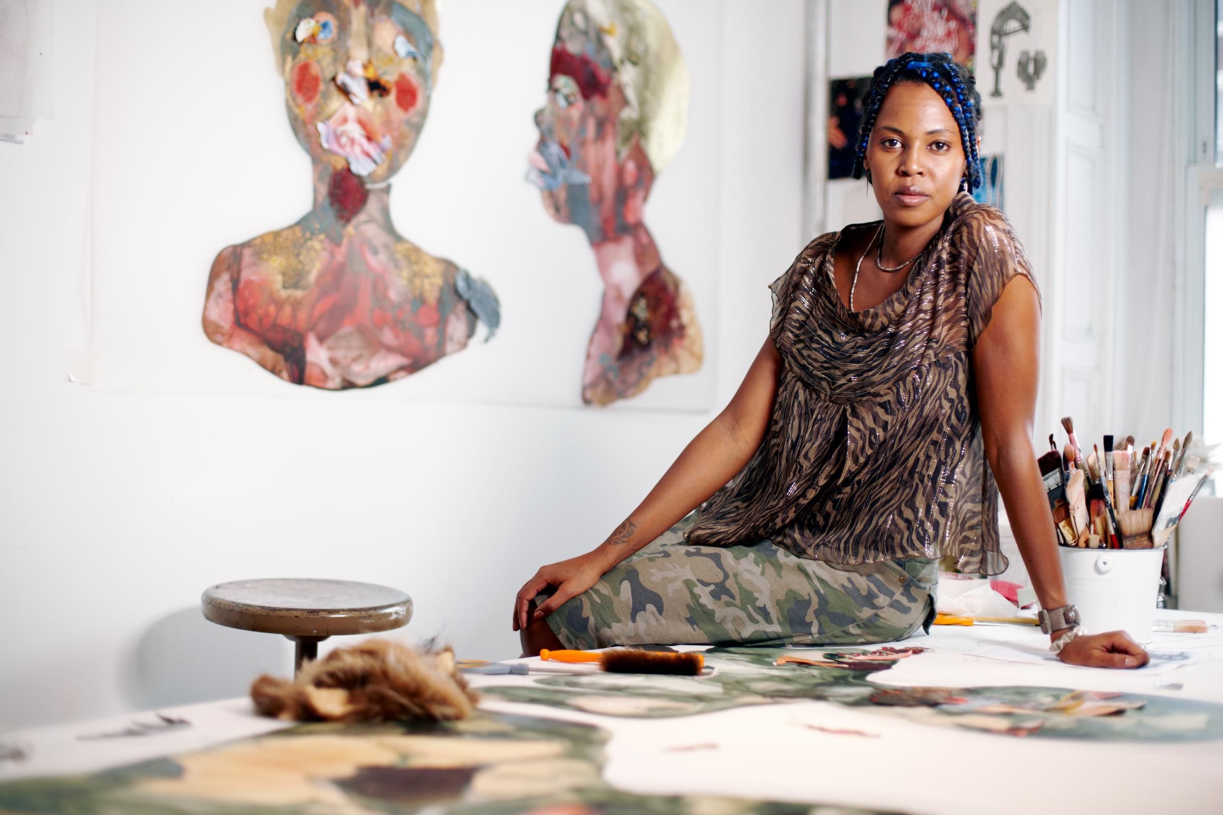 Wangeschi Mutu, artist