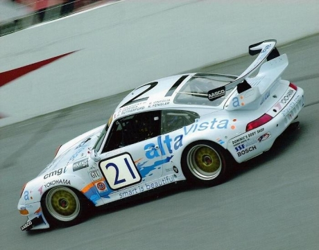 On the banking at the 2000 Rolex 24 Hours of Daytona