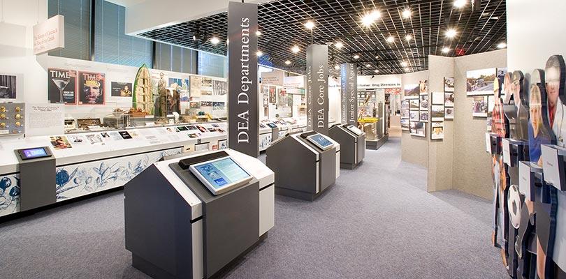 The DEA Museum in Arlington, Virginia