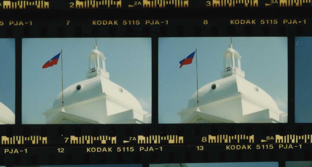 Haiti's National Palace on March 31, 1995 (Photo sheet: P026001)