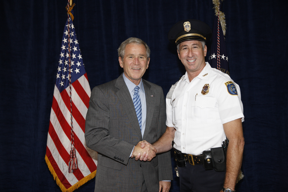 M1Hi_j0166_1 10/15/2008 Police Photos (George W. Bush Presidential Library and Museum)