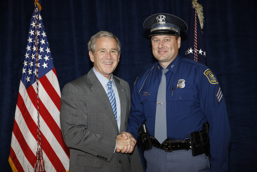 M1Hi_j0174_1 10/15/2008 Police Photos (George W. Bush Presidential Library and Museum)
