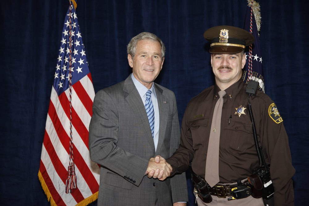 M1Hi_j0178_1 10/15/2008 Police Photos (George W. Bush Presidential Library and Museum)