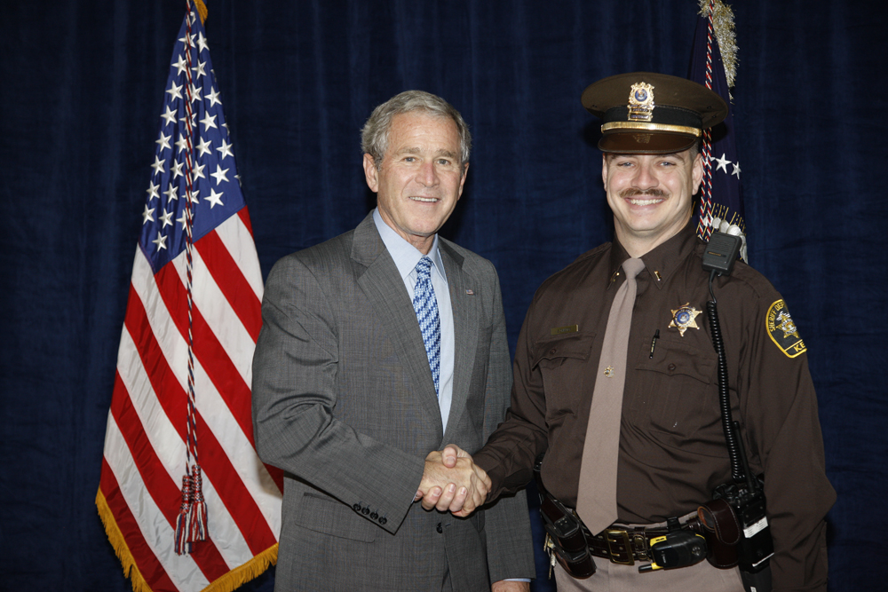 M1Hi_j0180_1 10/15/2008 Police Photos (George W. Bush Presidential Library and Museum)