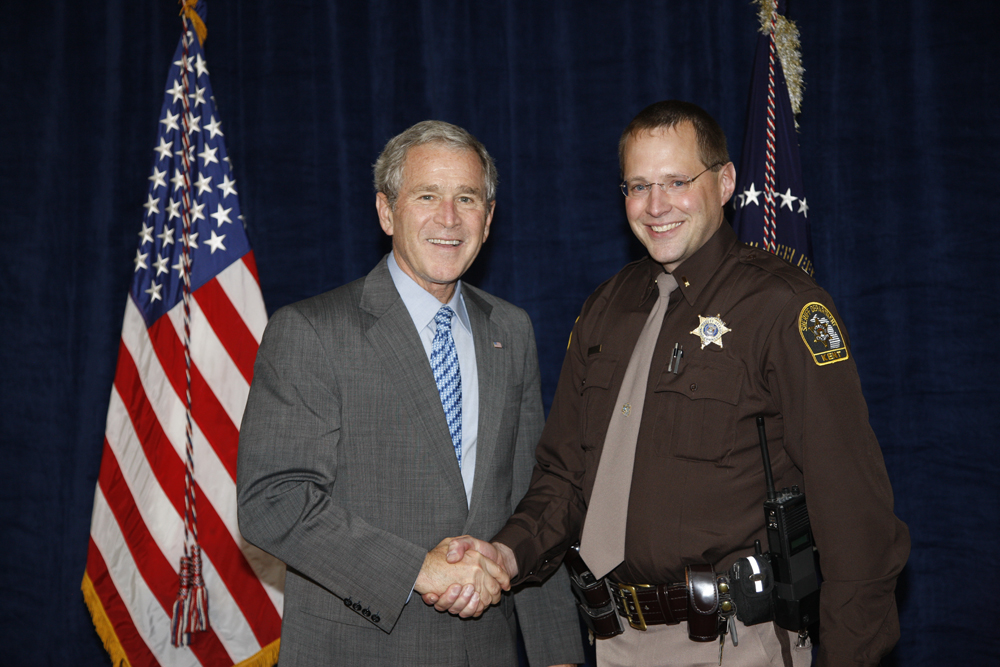 M1Hi_j0184_1 10/15/2008 Police Photos (George W. Bush Presidential Library and Museum)