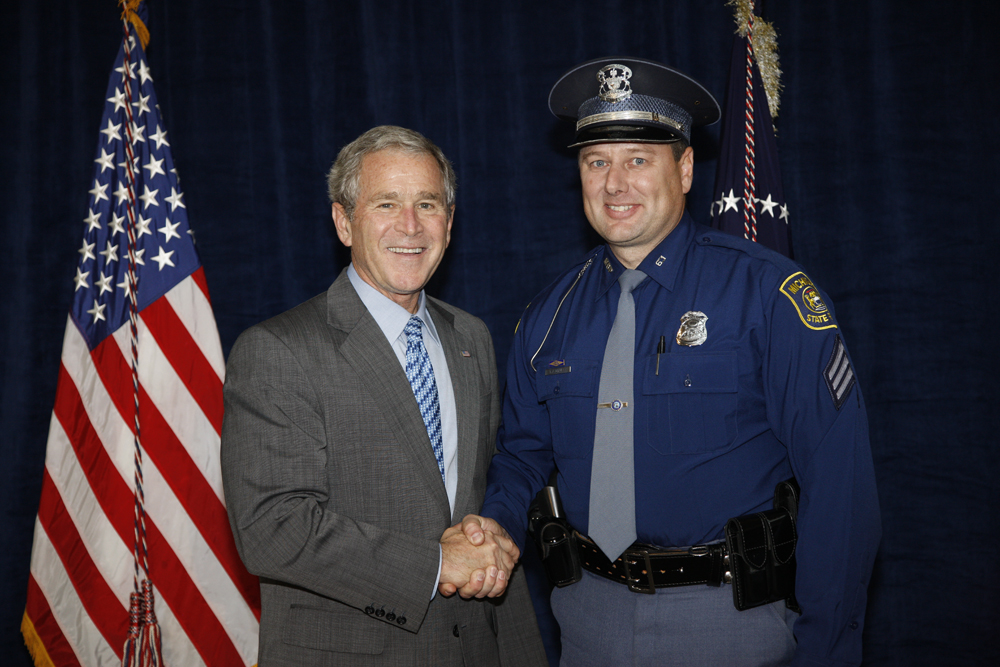 M1Hi_j0176_1 10/15/2008 Police Photos (George W. Bush Presidential Library and Museum)