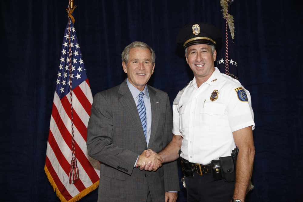 M1Hi_j0168_1 10/15/2008 Police Photos (George W. Bush Presidential Library and Museum)