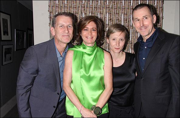 Tom Kirdahy, Dorothy Berwin, Bathsheba Doran and Mark Lee Photo by Joseph Marzullo/WENN
