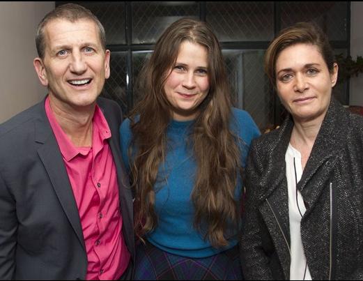 Tom Kirdahy, Lucy Kirkwood and Dorothy Berwin