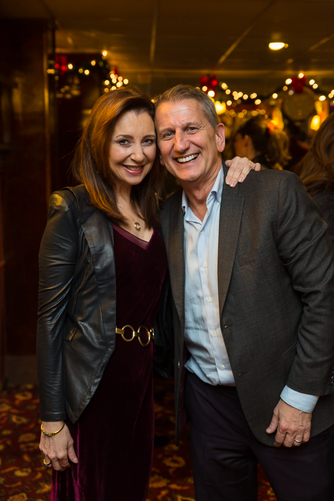 From Left: Donna Murphy, Tom Kirdahy