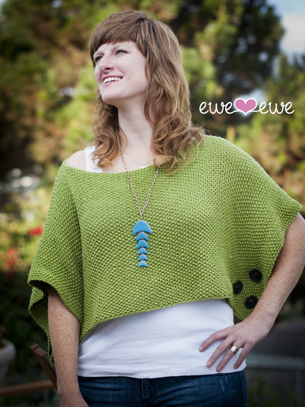 Contessa Cover-Up knitting pattern