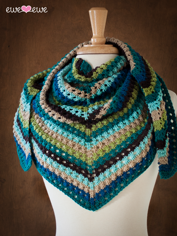 Whenever Wrap shawl knitting pattern