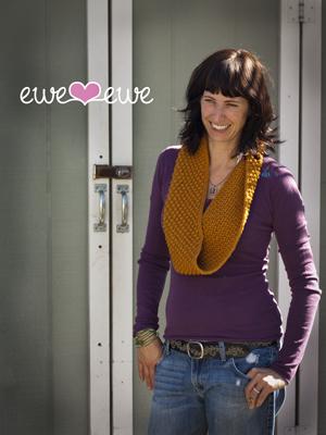 Carmel Corn Cowl knitting pattern >