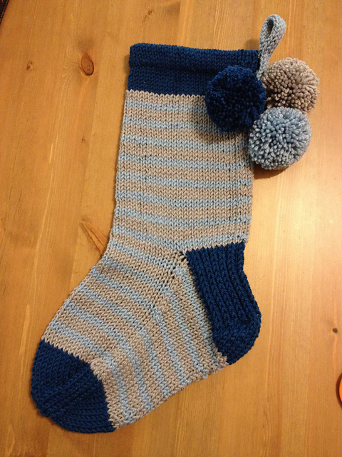 Love this masculine stocking by  OneSmileyGirl