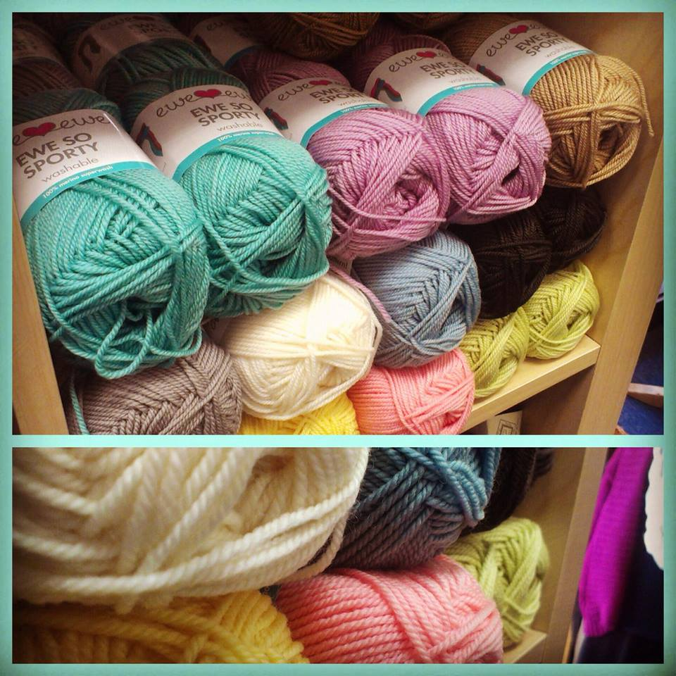 Ewe So Sporty yarn at  Anacapa Fine Yarns  in Ventura, CA