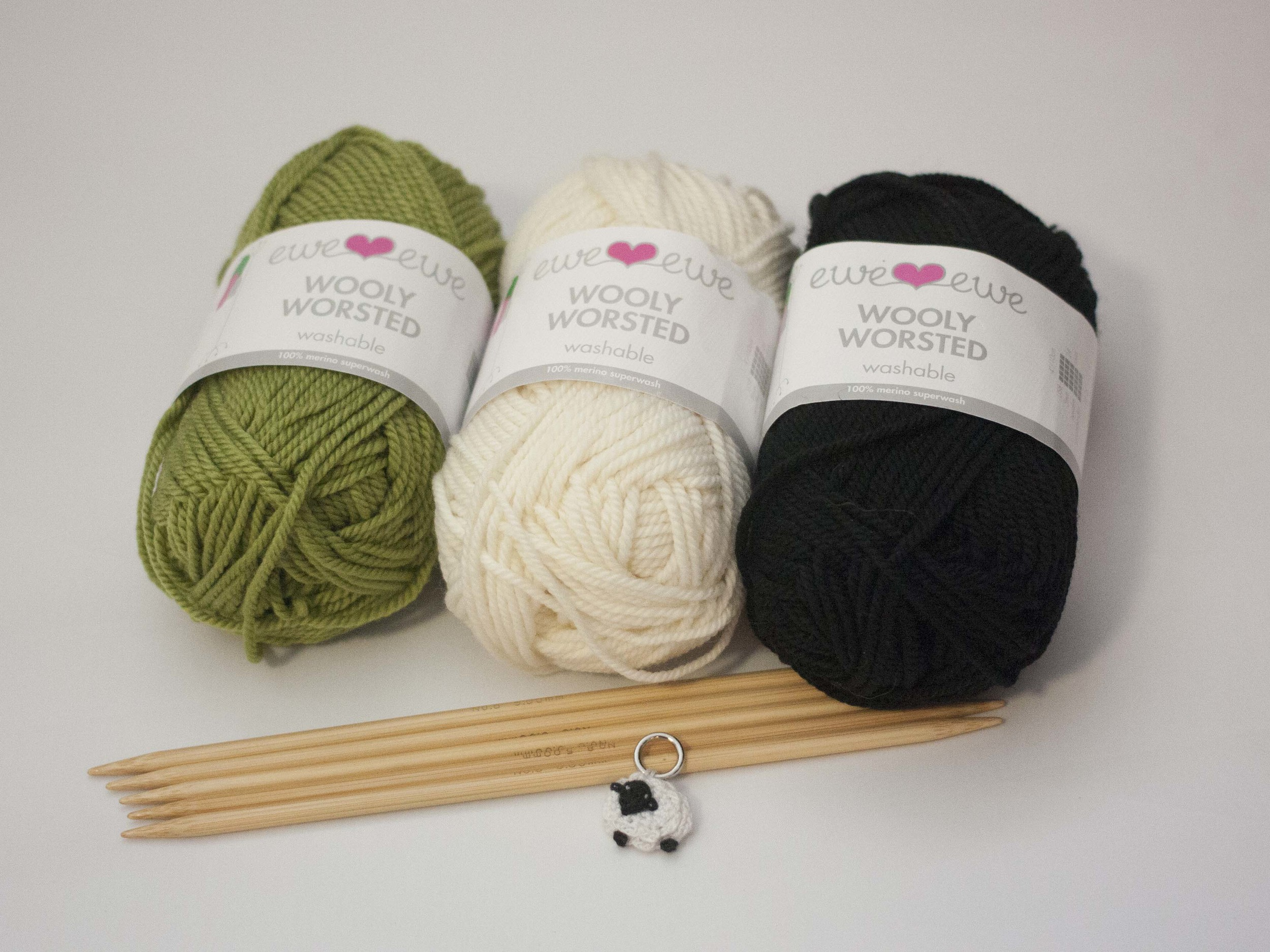 Knit along supplies