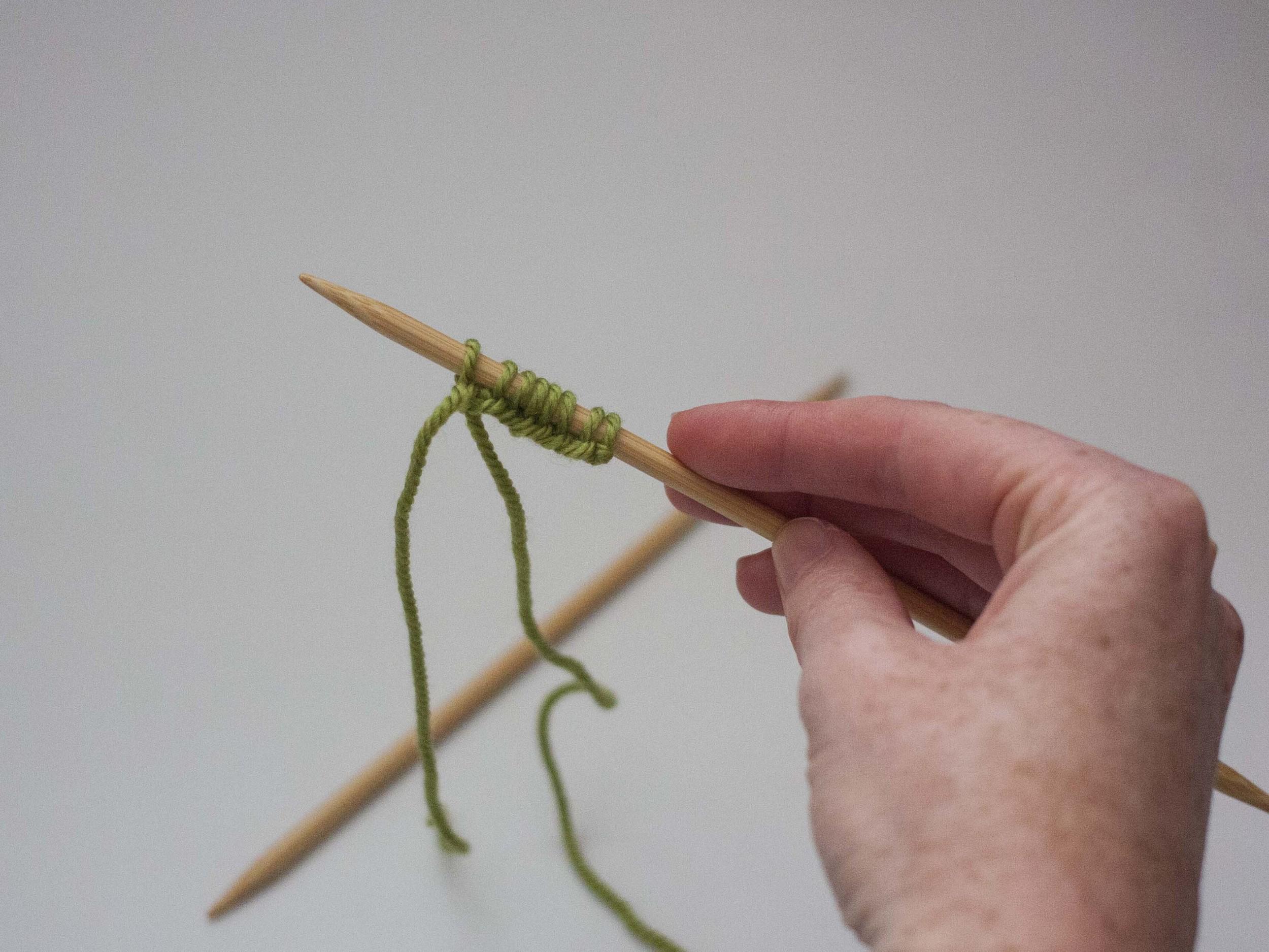 knitting an i-cord