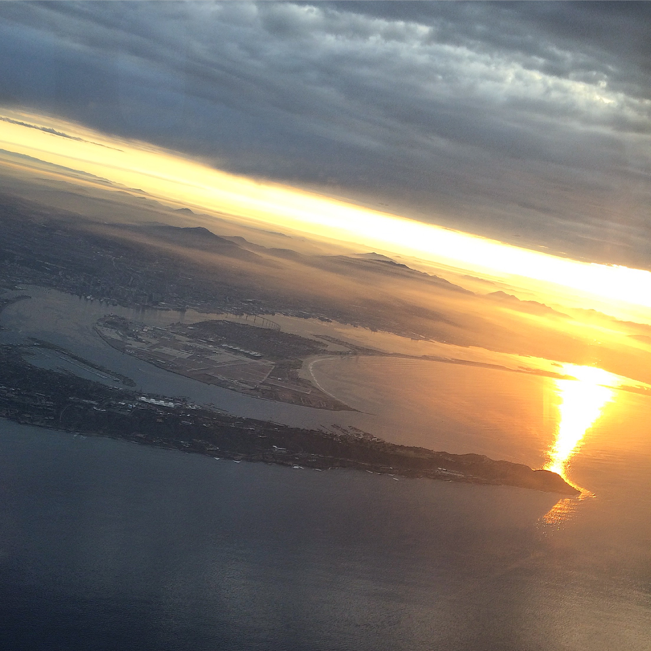 sunrise of San Diego