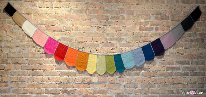 Rainbows & Unicorns scarf