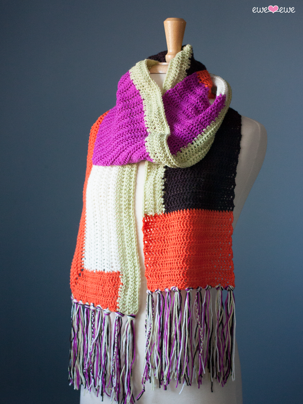 Anthologie crochet scarf pattern