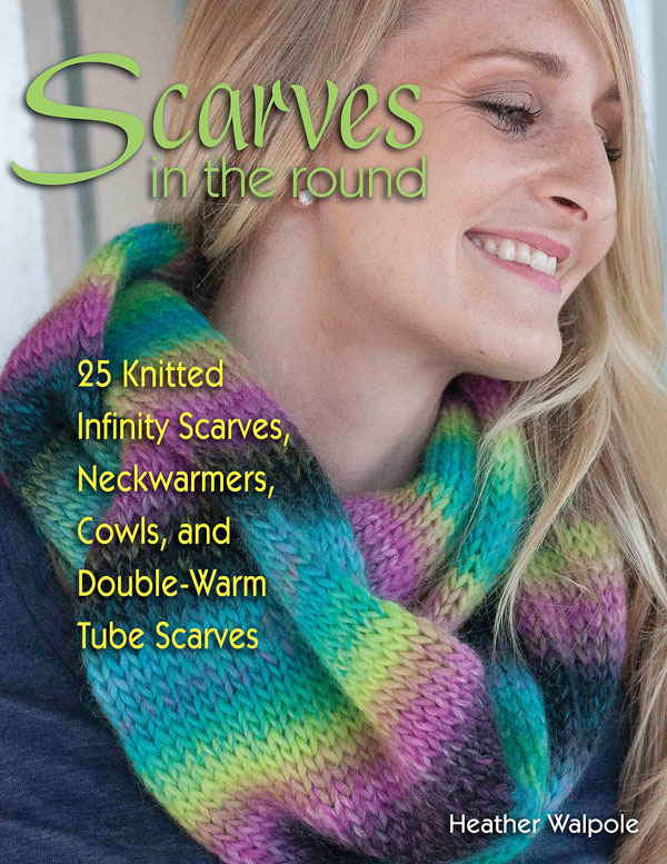 Scarves in the Round knitting book
