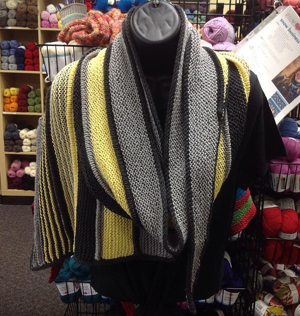 Sidera shawl