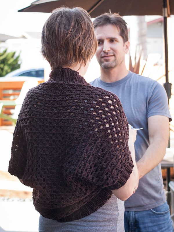 Show Off Shrug crochet pattern