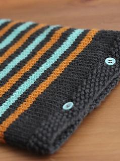 Easy iPad Sweater pattern by Elizabeth Smith  using Ewe Ewe  Wooly Worsted  yarn