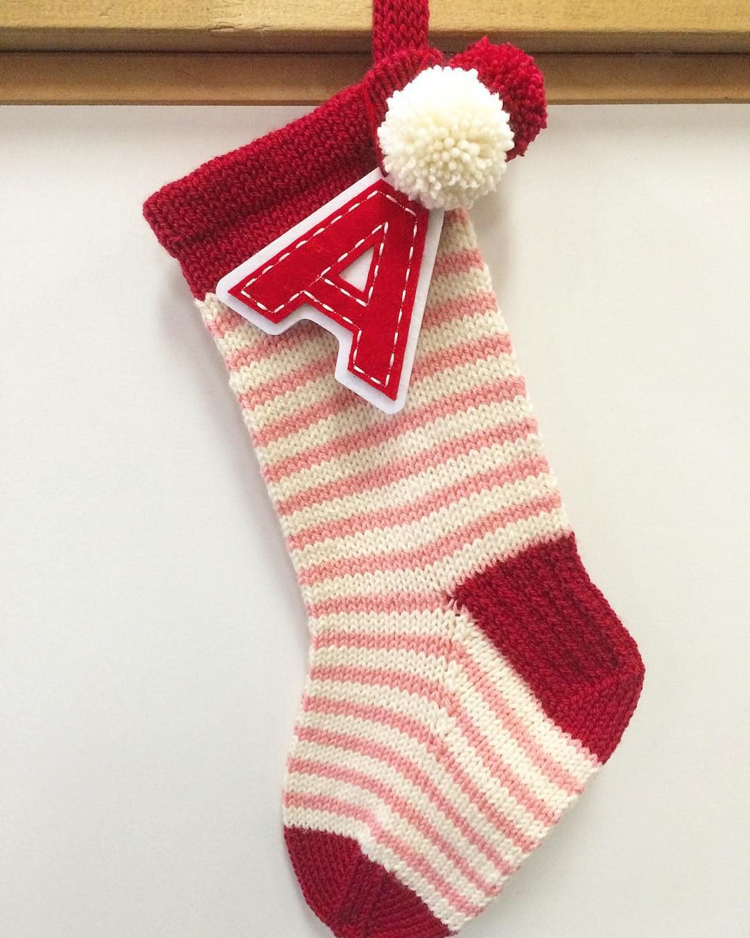 KaityBeth's sweet stocking. See on  Ravelry >