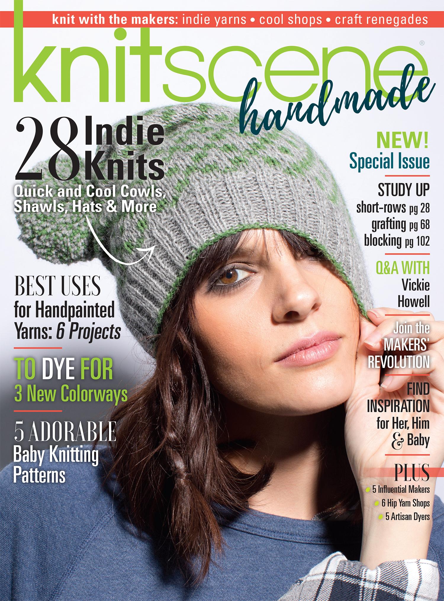 2016 knitscene handmade