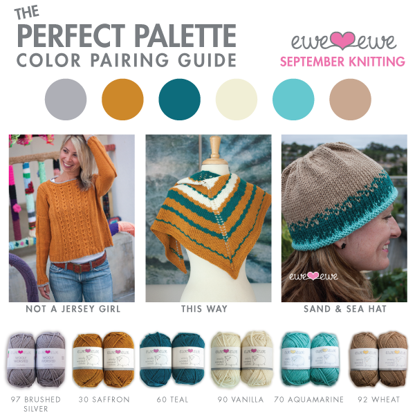 The Perfect Palette: September Knitting Color Guide