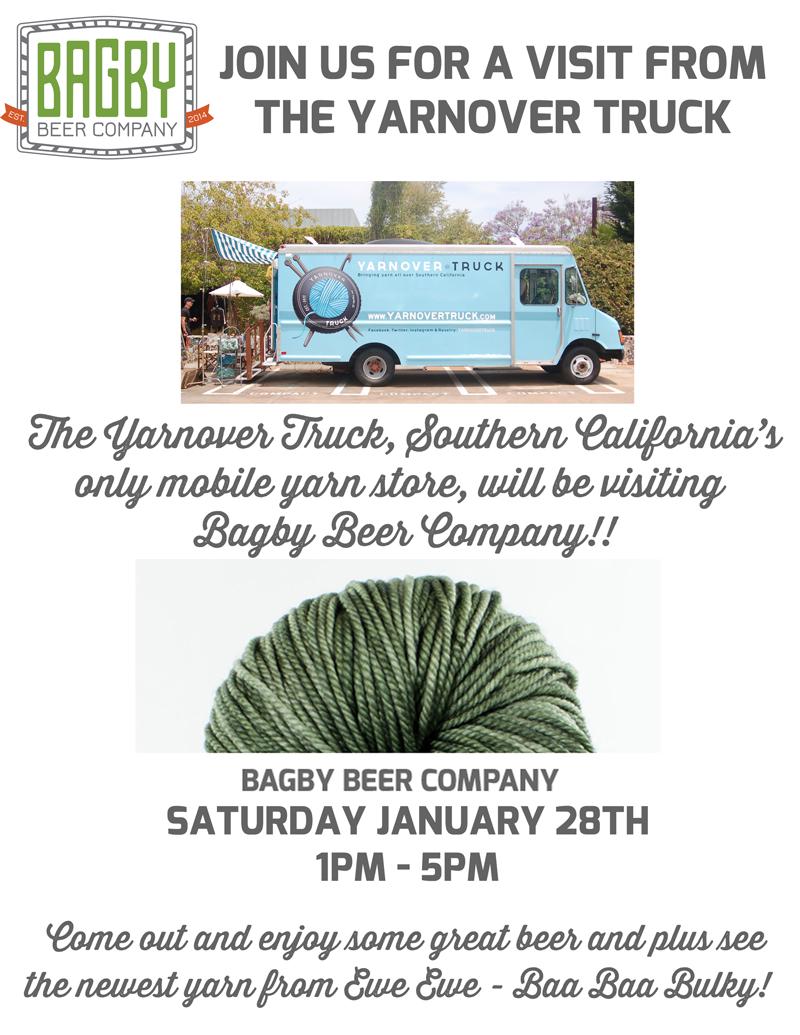 Yarnover Truck at Bagby Beer